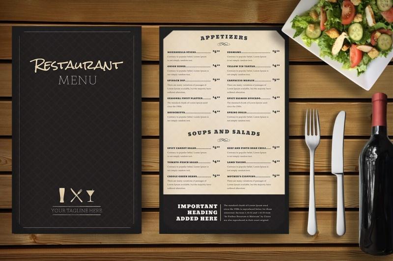 Cập nhật menu thường xuyên để thu hút khách hàng bạn nhé